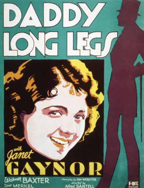 Daddy Long Legs Photograph - Daddy Long Legs, Janet Gaynor, 1931 by Everett