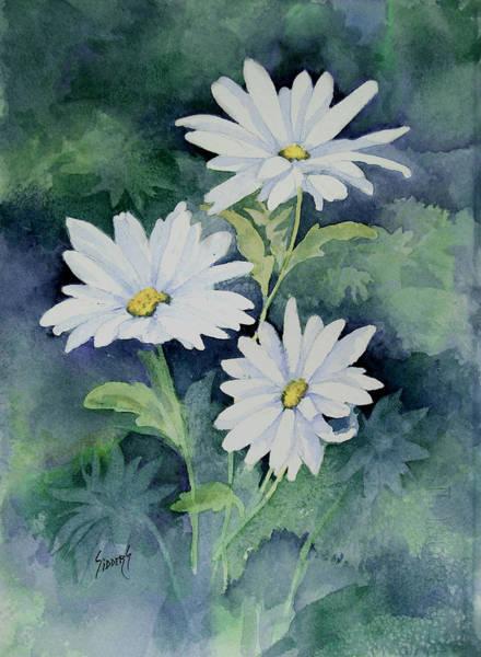 Painting - Daisies II by Sam Sidders