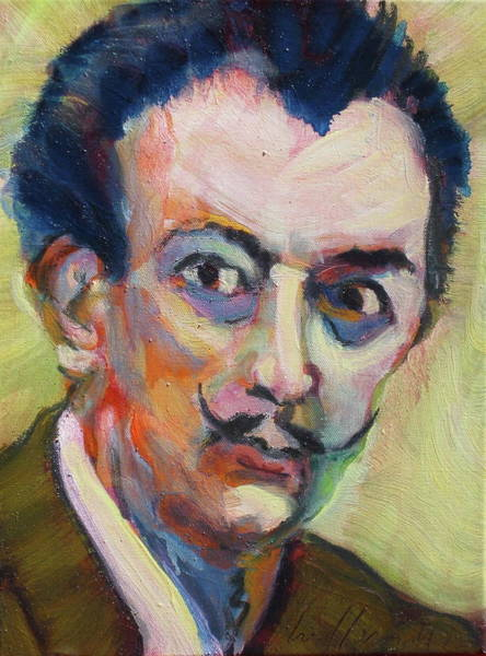 Painting - Dali by Les Leffingwell