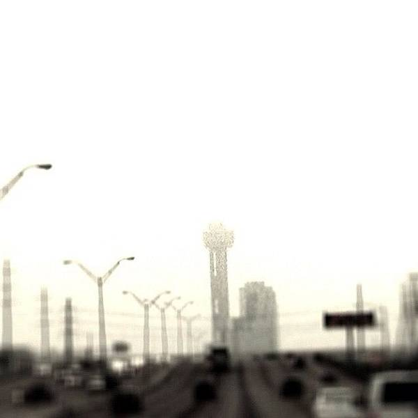 Wall Art - Photograph - #dallas #fog by Will Lopez