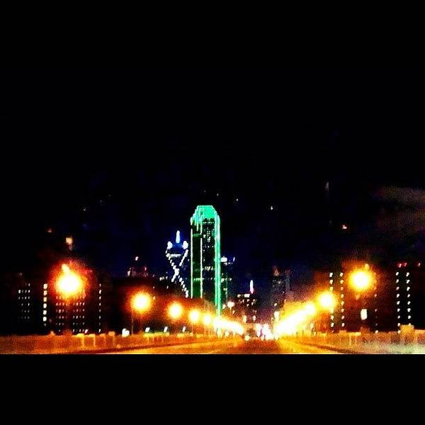 Wall Art - Photograph - #dallas by Will Lopez