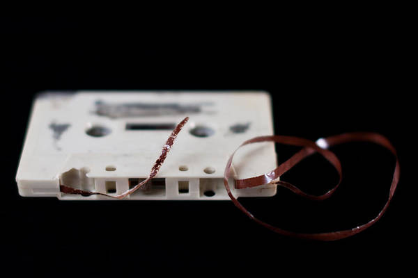 Damaged Photograph - Damaged Cassette by Jouni Ta Ka