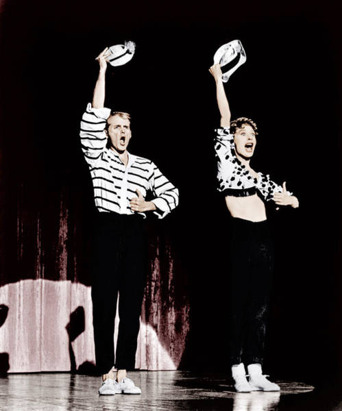 1958 Movies Photograph - Damn Yankees, From Left Bob Fosse, Gwen by Everett