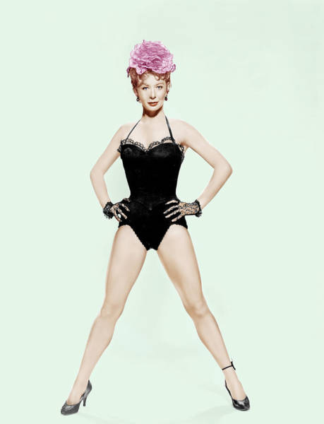 1958 Movies Photograph - Damn Yankees, Gwen Verdon, 1958 by Everett
