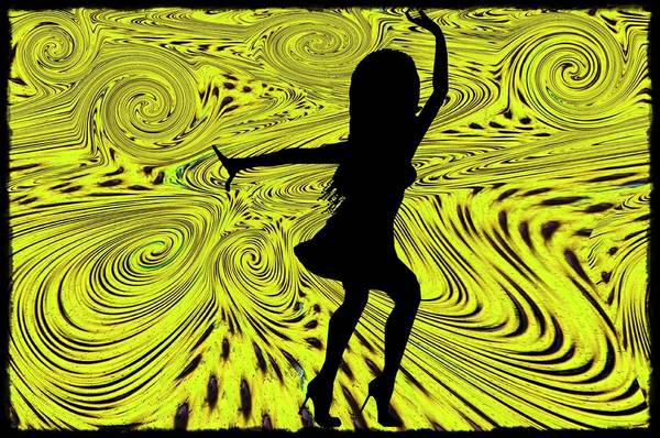 Digital Art - Dance by Bill Cannon