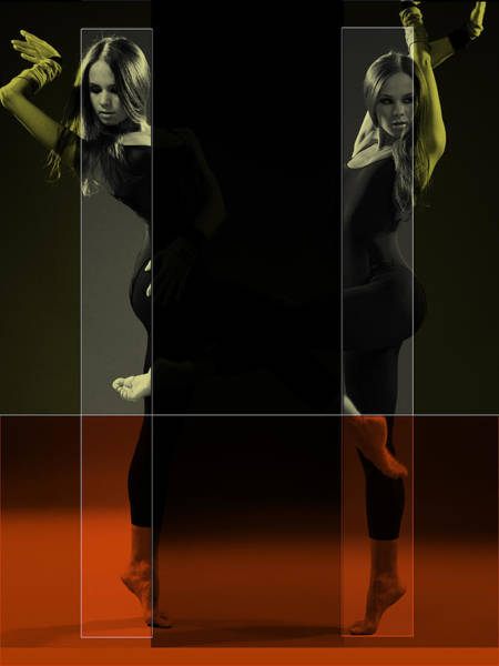 Entertain Photograph - Dancing Mirrors by Naxart Studio