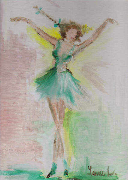 Painting - Dance by Laurie Lundquist