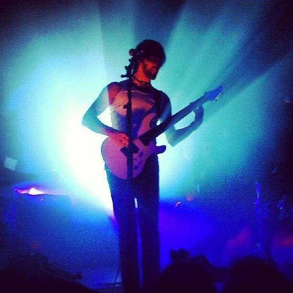Salvation Wall Art - Photograph - Daniel Gildenlow From Pain Of Salvation by Tomas Gomez