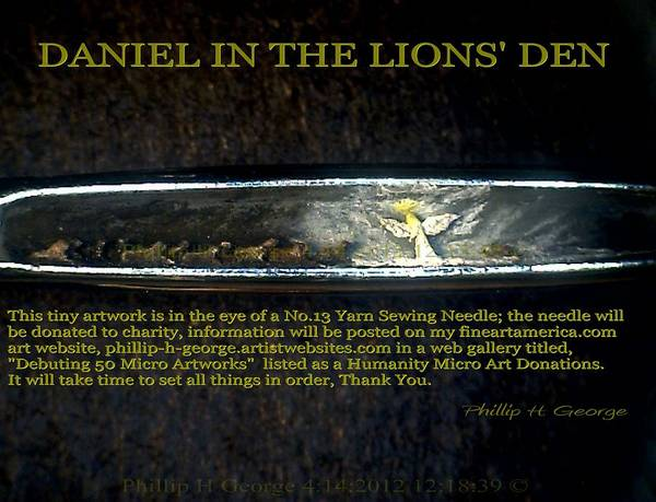 Daniel In The Lion's Den  Art Print