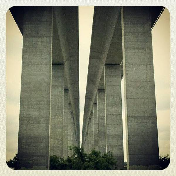 Road Photograph - Daniel Island Bridge From Governors by Melissa Wyatt