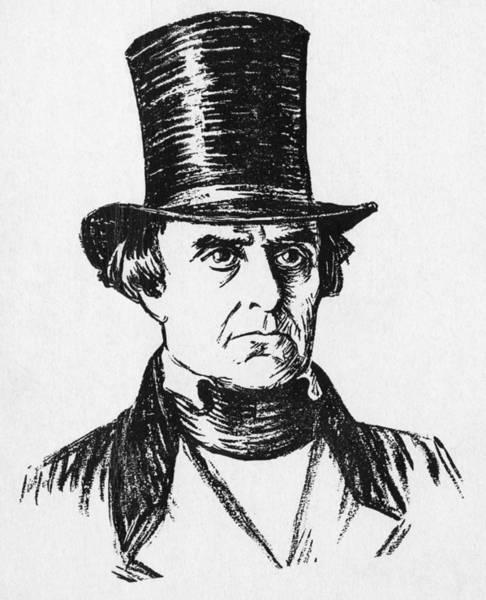 Whig Photograph - Daniel Webster, 1782-1852, U.s by Everett