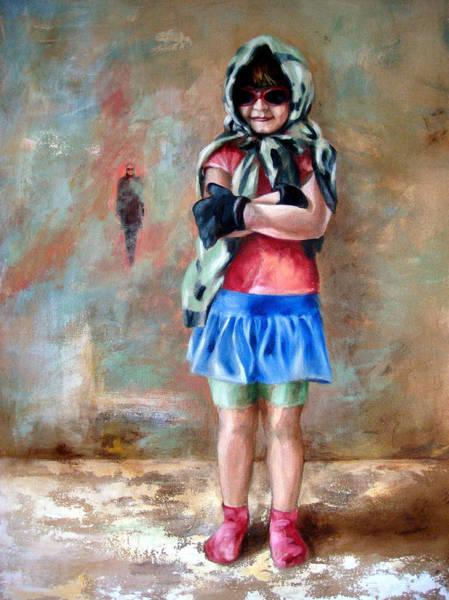 Wall Art - Painting - Danielle's Fashion by Leyla Munteanu