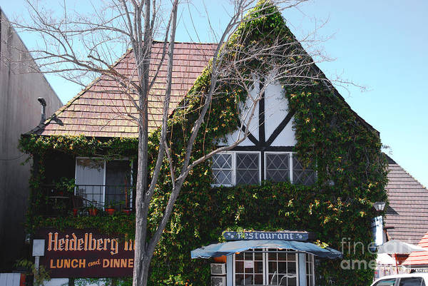 Photograph - Danish Architecture In Solvang California by Susanne Van Hulst
