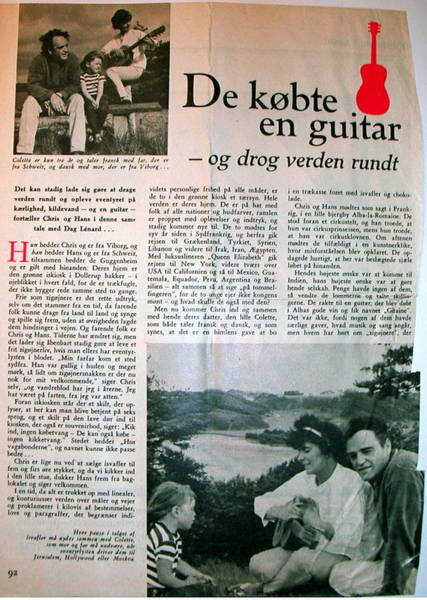 Photograph - Danish Article From 1960 by Colette V Hera  Guggenheim