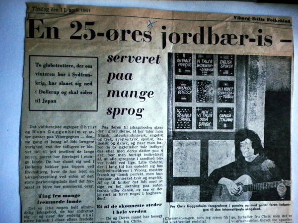Photograph - Danish Article From 1961 by Colette V Hera  Guggenheim