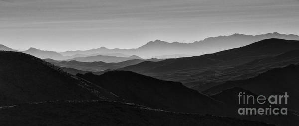 Death Valley Photograph - Dantes View by Keith Kapple