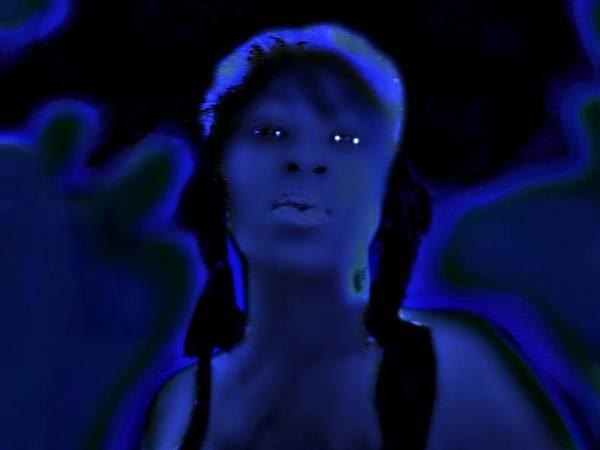 Essence Digital Art - Dark Essence by Tonya Scales