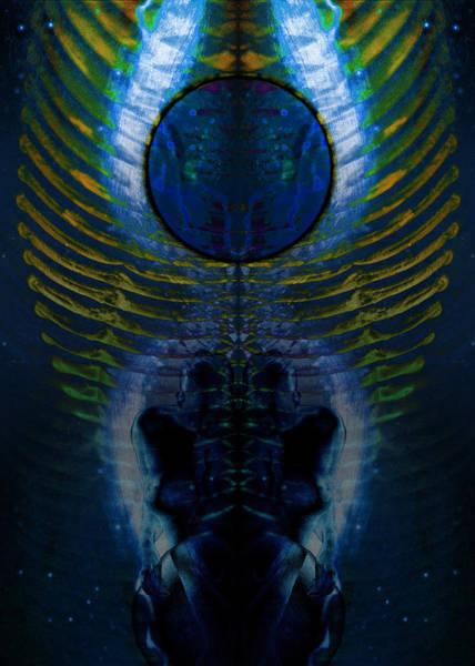Digital Art - Dark Matter Twins by David Kleinsasser