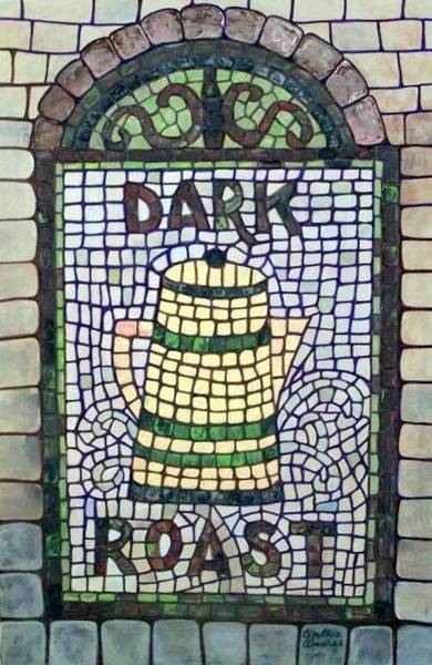 Painting - Dark Roast Coffee by Cynthia Amaral