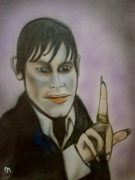Johnny Depp Painting - Dark Shadows by Pete Maier