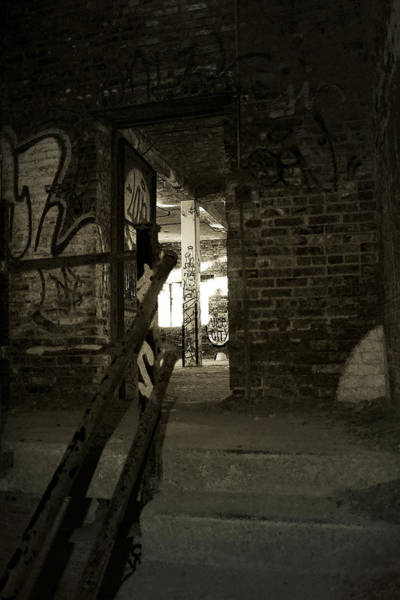 Photograph - Dark Stairwell by Scott Hovind