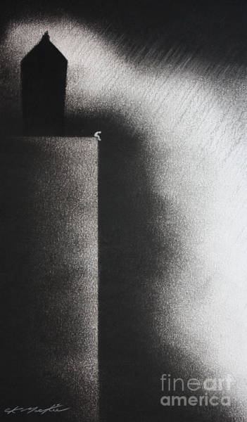 Darkness Shrouds My House Art Print