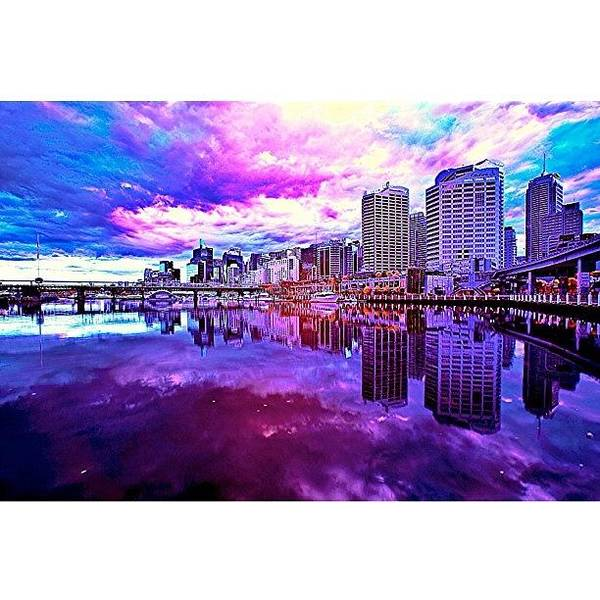 Darling Harbour Is A Harbour Adjacent Art Print