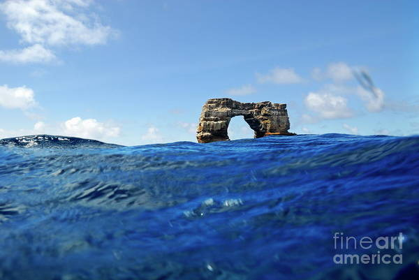 Wall Art - Photograph - Darwin's Arch By Sea Level by Sami Sarkis