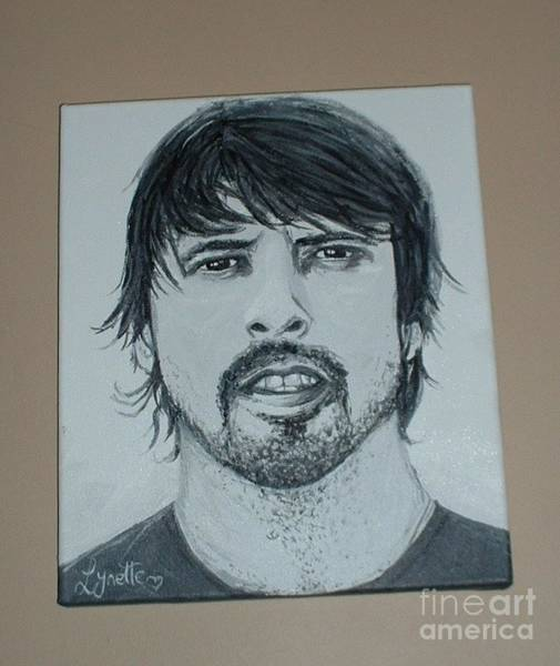 Dave Grohl Painting - Dave Grohl by Lynette Cooper