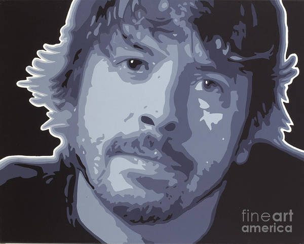 Dave Grohl Painting - Dave Grohl by Sonny Forbes