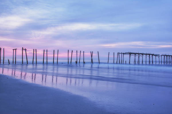 Photograph - Dawn At 59th Street Pier by Tom Singleton
