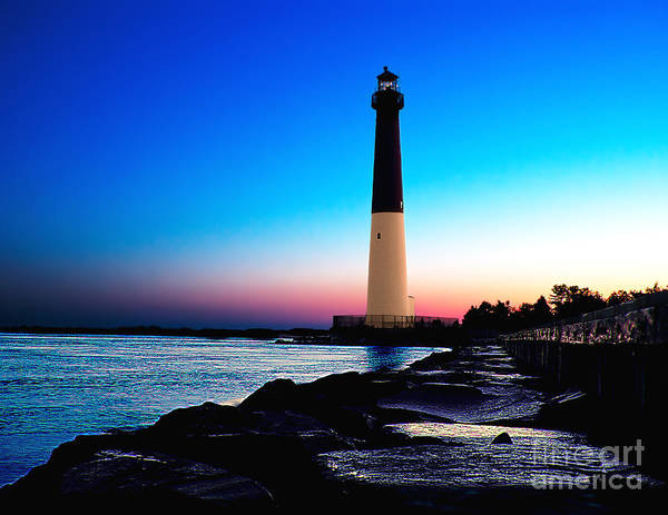 Photograph - Dawn At Barnegat Light by Nick Zelinsky