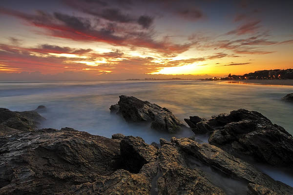 Photograph - Dawn At The Rocks by Mark Lucey