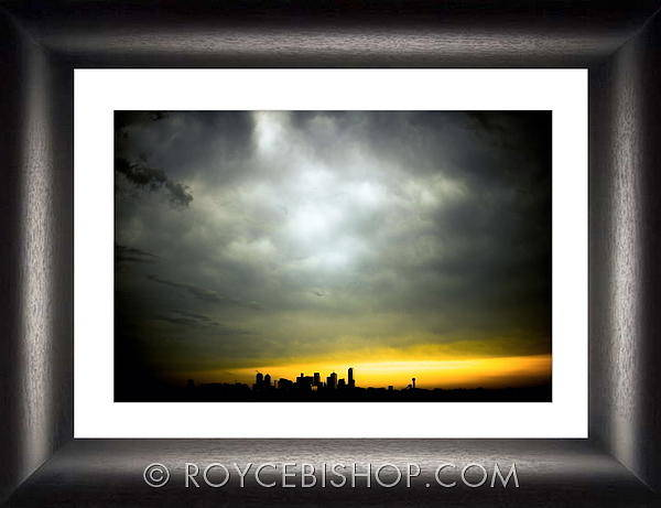 Photograph - Dawns Eclipse by Royce Bishop