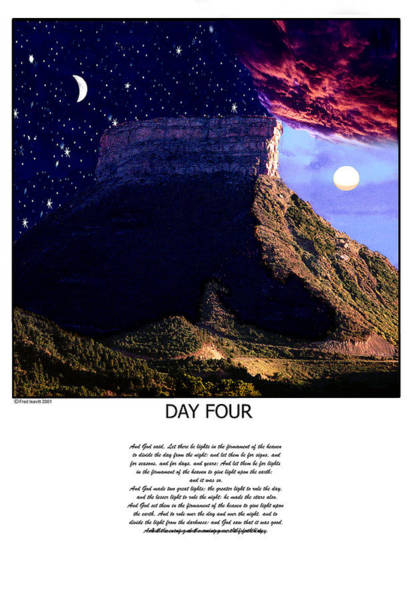 Wall Art - Digital Art - Day Four by Fred Leavitt