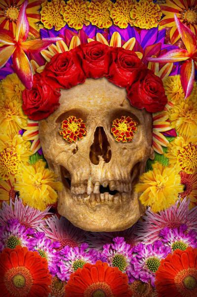 Photograph - Day Of The Dead - Dia De Los Muertos by Mike Savad