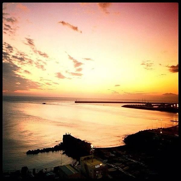 Sea Photograph - Days End #graceland25 #webstagram by A Rey