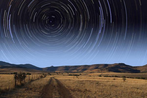 Photograph - Daytime Startrails by Larry Landolfi