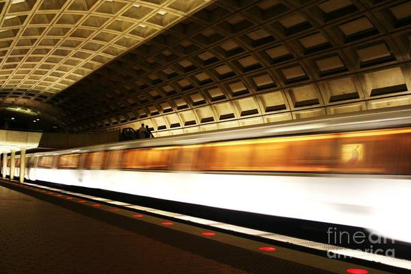 Photograph - Dc Metro by Heather Applegate