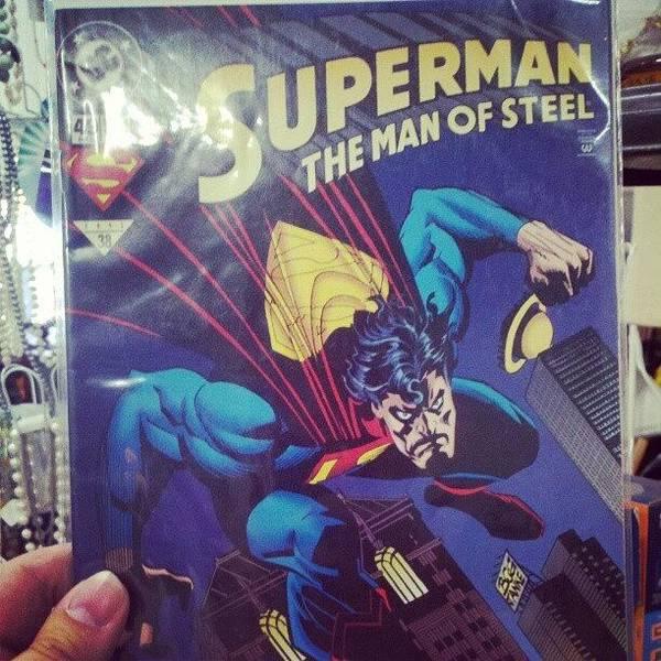 Superhero Wall Art - Photograph - #dccomics #superman by Melissa Wyatt