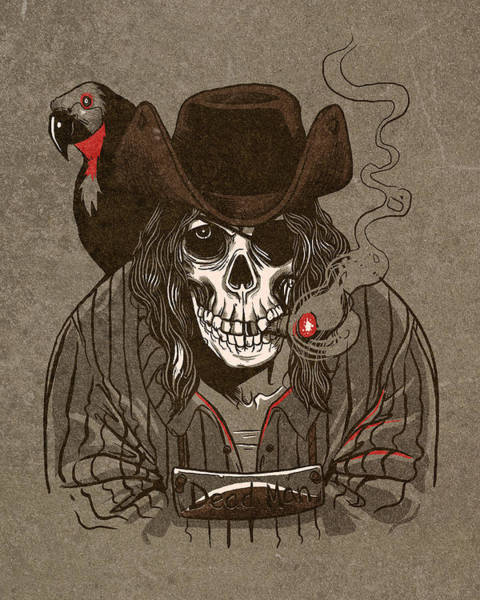 Parrot Digital Art - Dead Man by Michael Myers