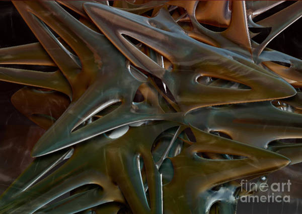 Phantasy Digital Art - Dear Oh Deer by Jan Willem Van Swigchem