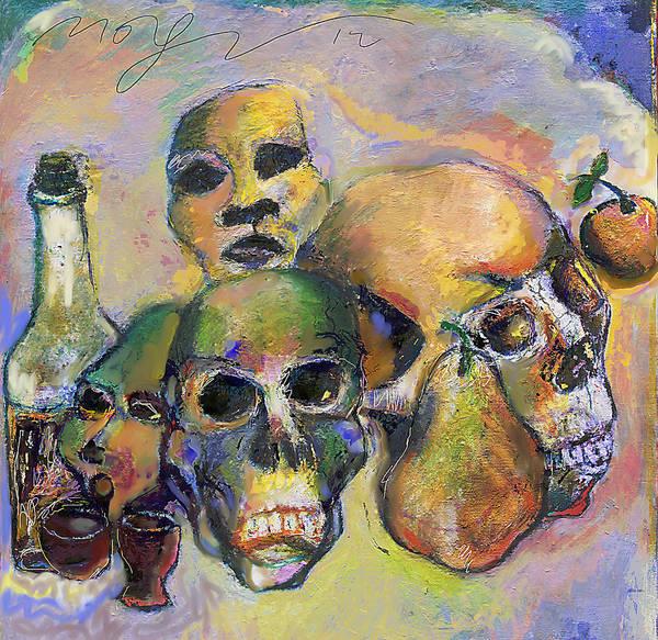 Wall Art - Painting - Death Art 2 by Noredin Morgan