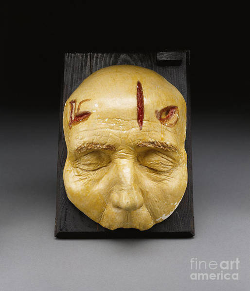 Photograph - Death Mask, Incision, Laceration by Science Source