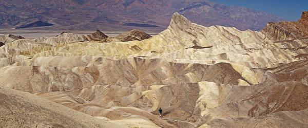 Photograph - Death Valley - Zabriski Point View by Levin Rodriguez