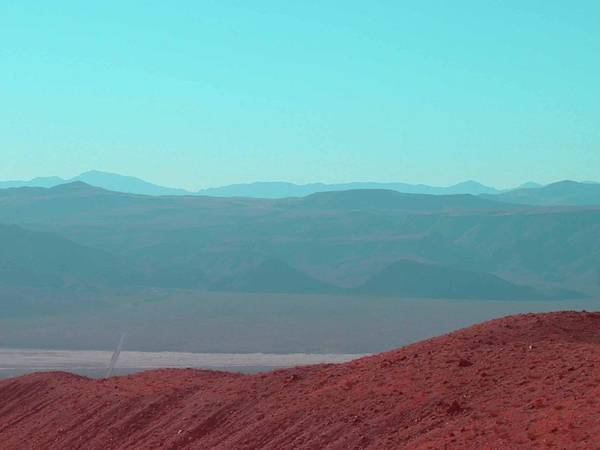 California Mountains Photograph - Death Valley View 2 by Naxart Studio