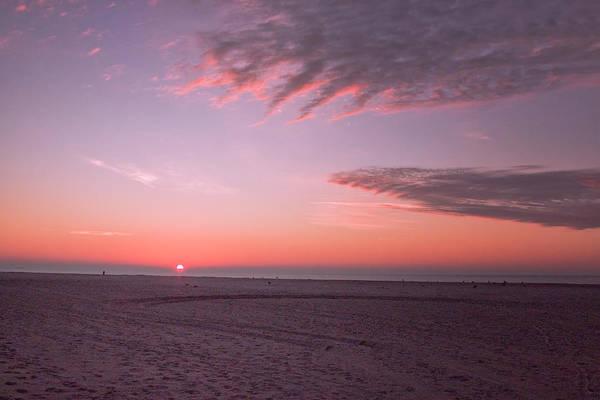 Photograph - December Cape May Sunrise by Tom Singleton