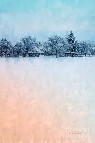 Photograph - December Snow by Jutta Maria Pusl