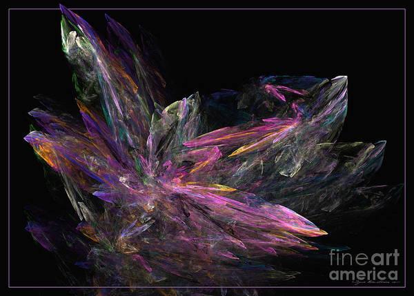 Digital Art - Deep Crystallization - Abstract Art by Sipo Liimatainen