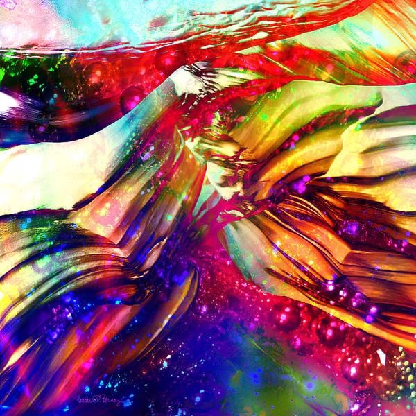 Digital Art - Deep Within by Barbara Berney
